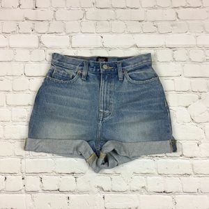 BDG Urban Outfitters Mom High Rise Jean Shorts 24